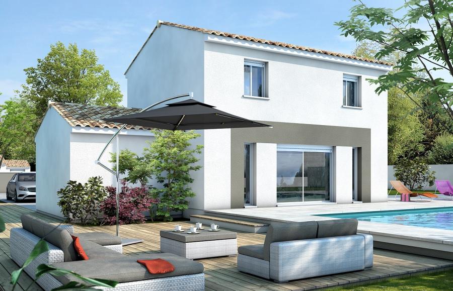 Maison sun constructeur agr maisons de qualit for Constructeur de maison nimes