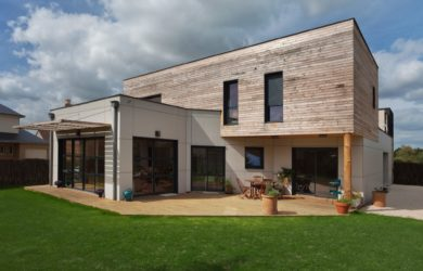 Maison contemporaine – Nature et Logis