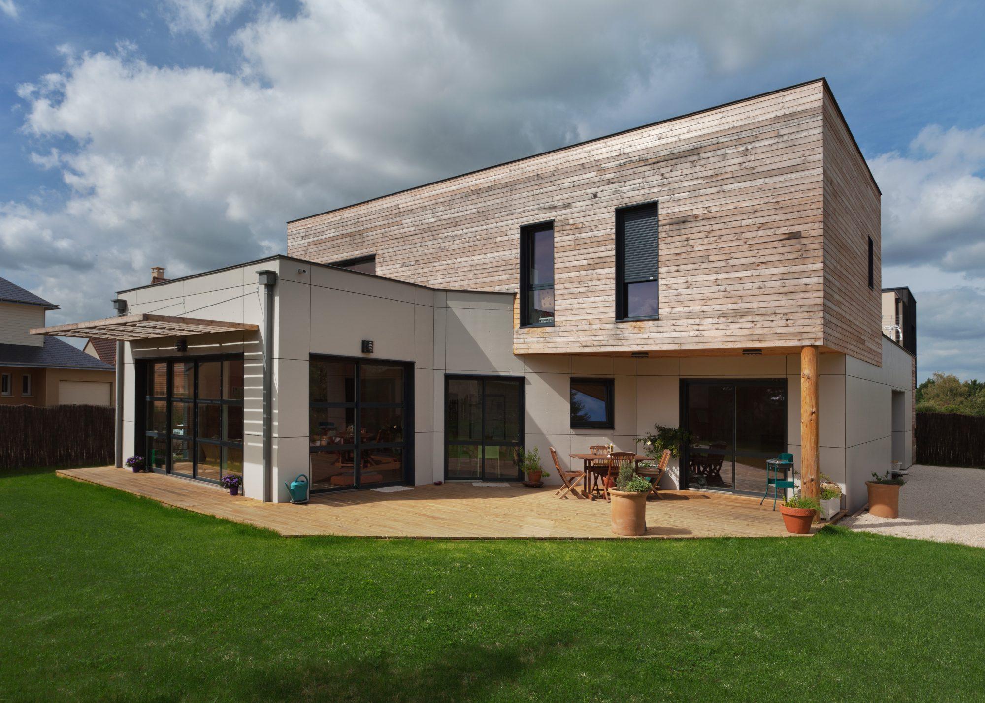 Nature et logis constructeur agr maisons de qualit for Constructeur maison saone et loire