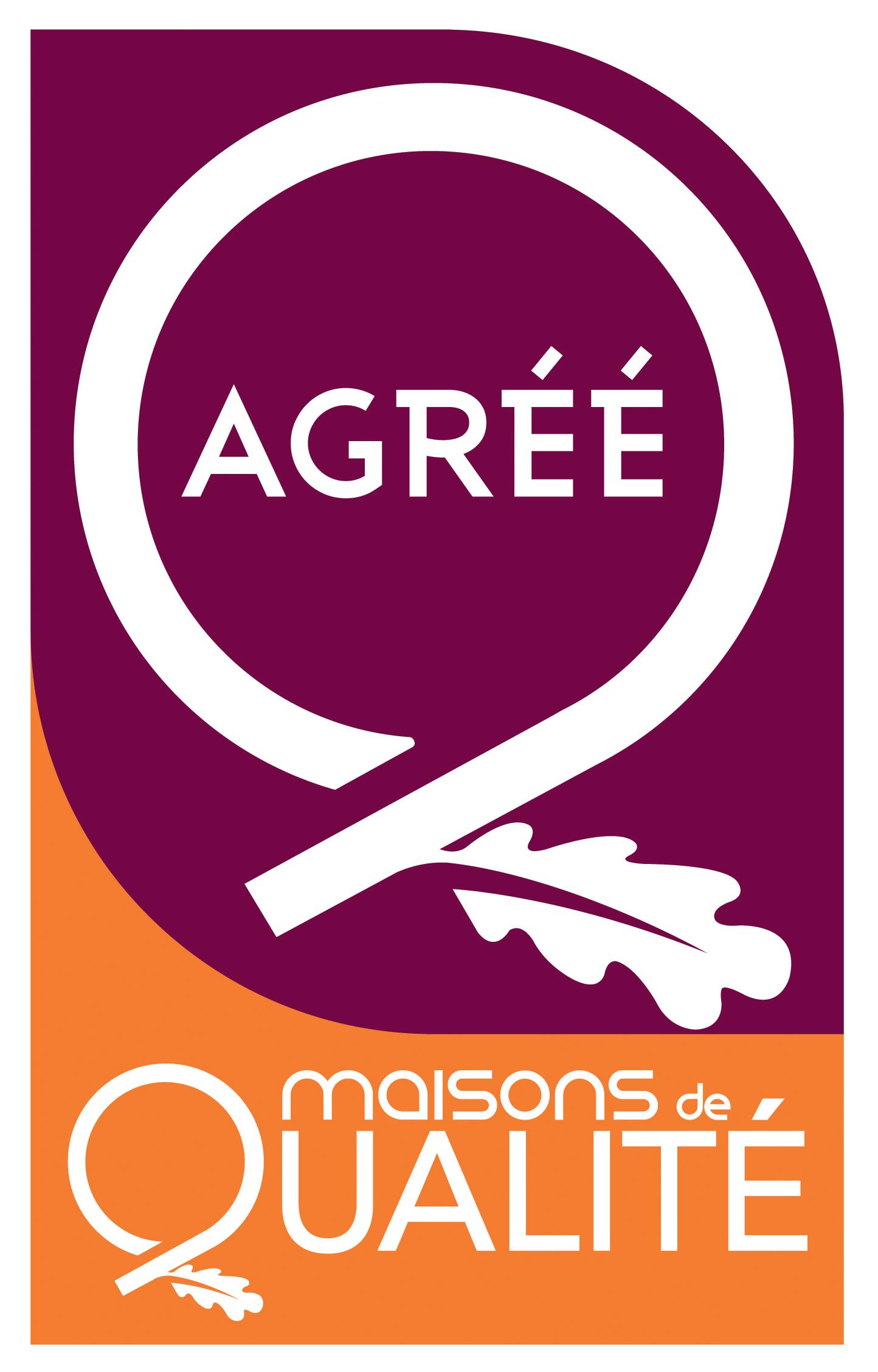 Logo Label Agrément Maisons de Qualité
