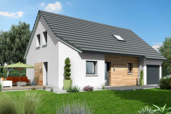 Maisons rocbrune constructeur agr maisons de qualit for Garage garantie constructeur