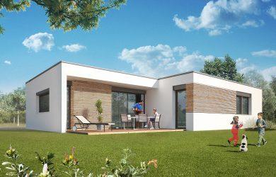 «Tonga» – Maison toit terrasse
