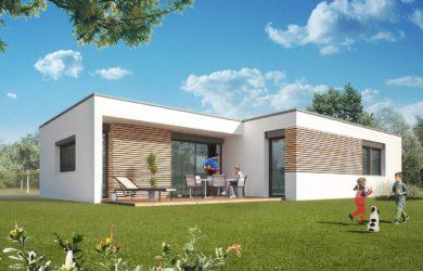 «Tonga» – Maison toit terrasse – Maisons Rocbrune