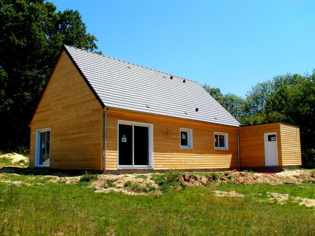 Constructeur maison bois orne for Constructeur maison contemporaine orne