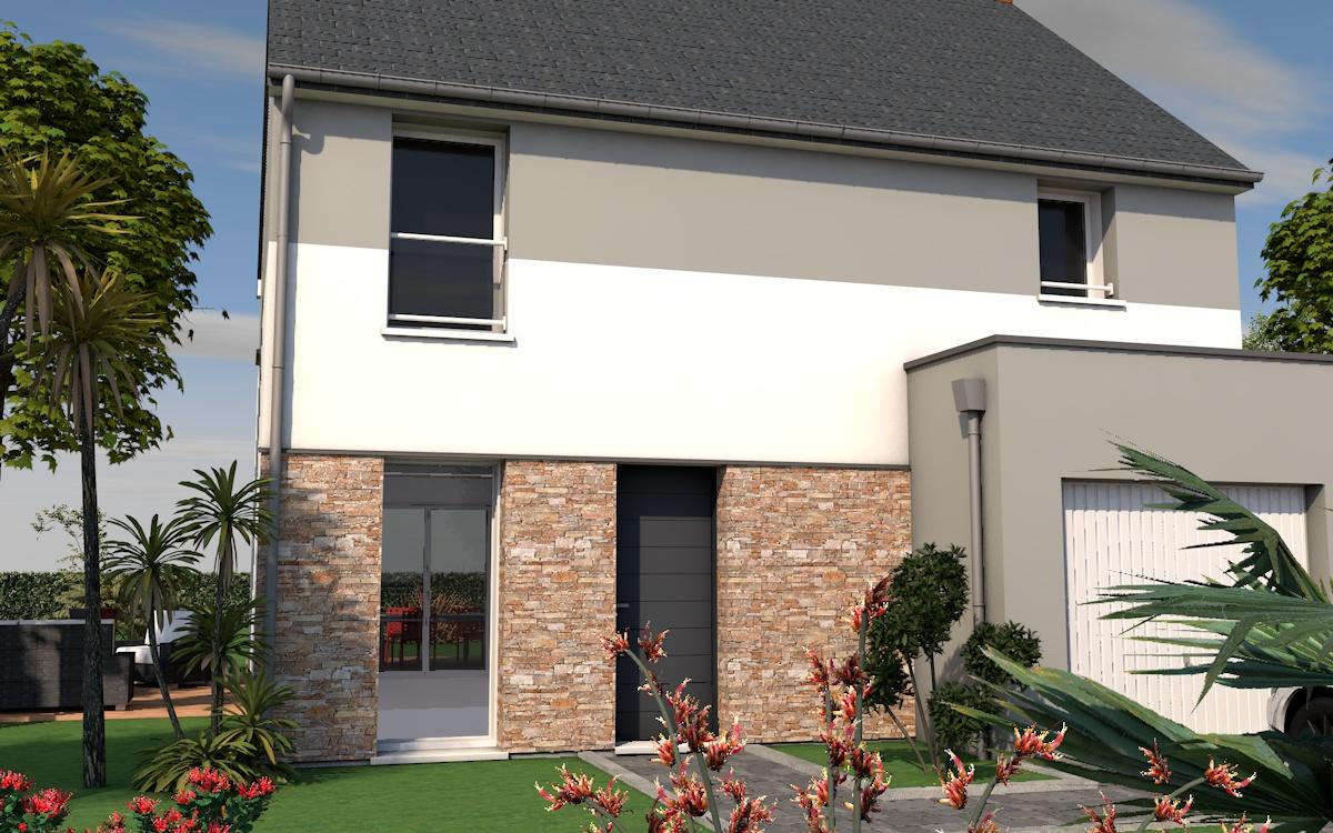 1 maison l essentiel primeo 1 18 avec pierre maisons de for Essentiel maison