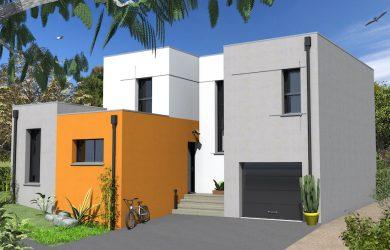 Construction Maison 2 toit plat