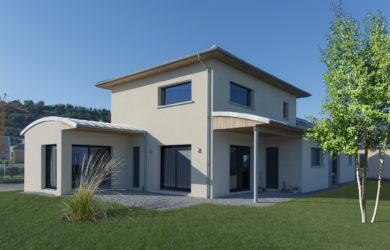 Maison contemporaine – CTA Constructions