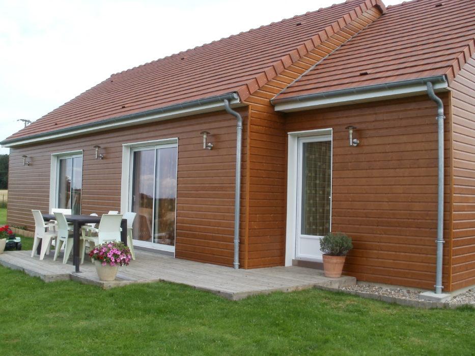A m b alen on maisons bois constructeur agr maisons de for Constructeur maison orne
