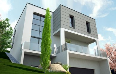 Maison contemporaine – Costa Constructions
