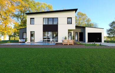 Maison contemporaine – Delta Entreprise