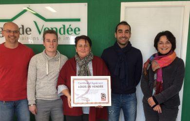 Logis de Vendée, premier constructeur vendéen Agréé Maisons de Qualité