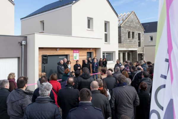 Inauguration Lab'Home Maisons Ericlor